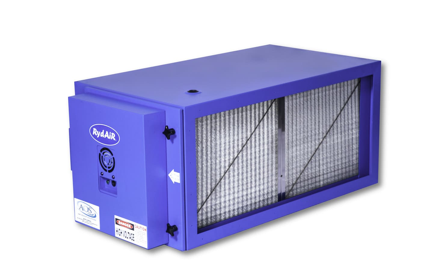 Industrial Air Cleaners : Electrostatic air cleaner benefits aos australia